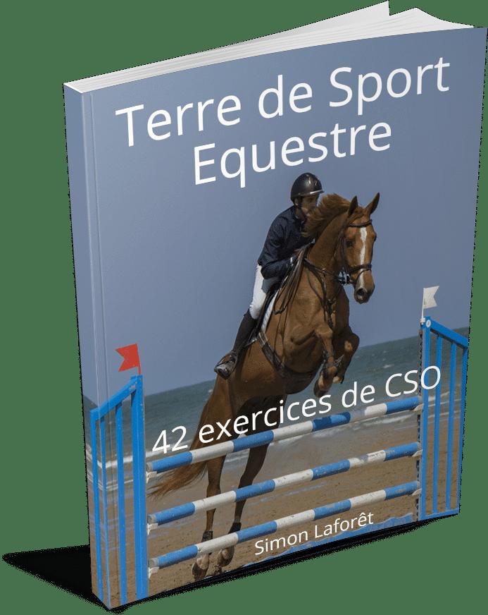 livre exercices de cso cavalier cheval saut d'obstacles