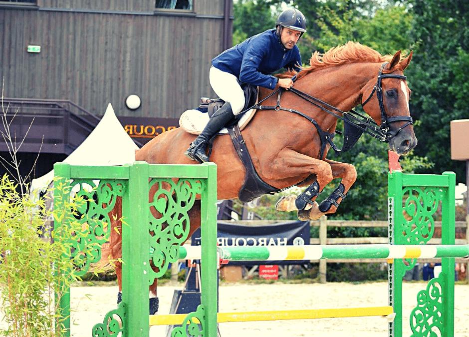 Unizzio fantastique au concours Harcour au Boulerie jump