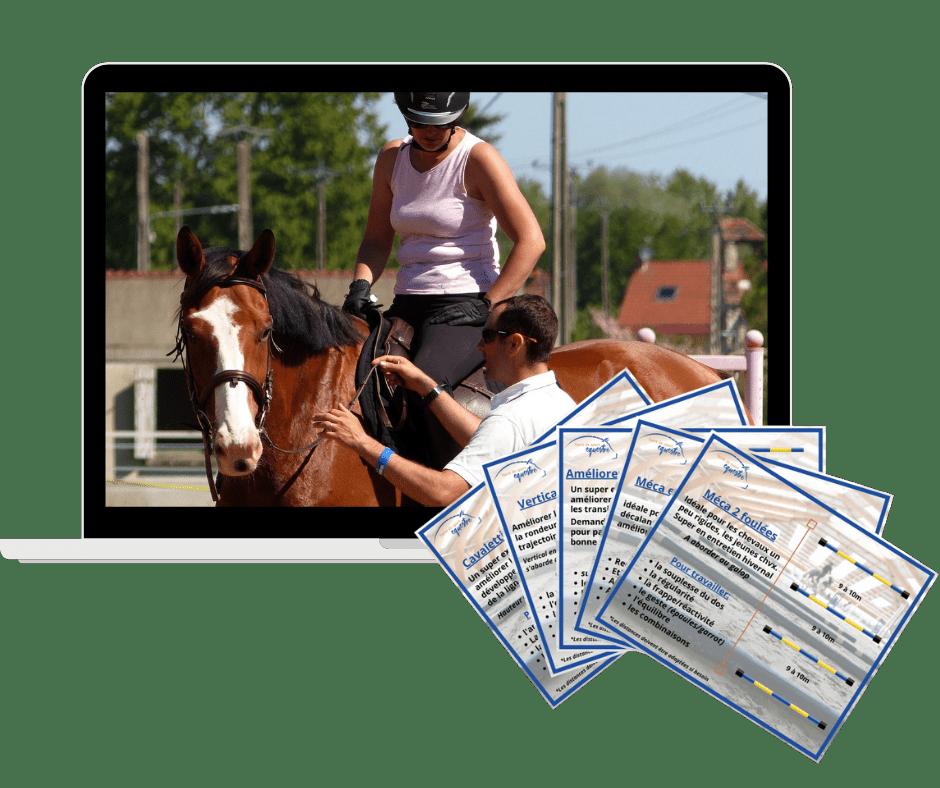 La disponibilite au galop exercices pour les cavalier et les chevaux